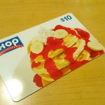 IHOP Gift Card Note: Card image may vary in appearance.